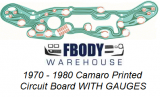 1970 - 1980 Camaro Printed Circuit Board NEW  w/ INSTALL VIDEO