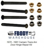 1970-1981 Camaro and Trans Am Door Hinge Repair Kit