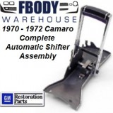1970 - 1972 Camaro Center Console Automatic Horseshoe Shifter 100% Complete!