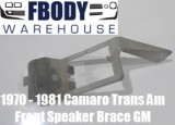 1970 - 1981 Camaro Trans Am Front Dashboard Speaker Retainer Brace GM unit!