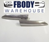 1970 - 1981 Trans Am Deluxe Exterior Molding Trim Fender Tip Chrome