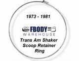 1976- 1979 Trans Am Shaker Hood Air Cleaner Chrome Trim Ring NEW