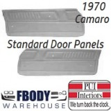 1970  Camaro Standard Door Panels 5 Colors to Choose From