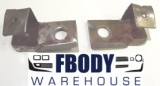1971 - 1981 Trans Am Firebird  Deluxe Seat Back Retainer Brackets Used GM!
