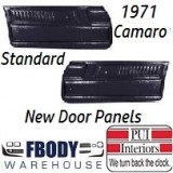 1971 Camaro Standard  Door Panels 5 Colors to Choose From