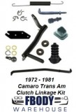 1972 - 1981 Camaro Trans Am Clutch Linkage Kit NEW