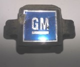 1972 - 1974 Camaro Trans Am Seat Belt Female Buckle GM Logo Button