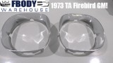 1970 - 1973 Trans Am Firebird Head Light Bezels GM units