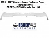 1974 - 1977 Camaro Lower Valance Panel