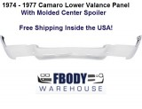 1974 - 1977 Camaro Lower Valance Panel w/ Center Spoiler