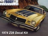 1974 Camaro Z28 Decal Kit