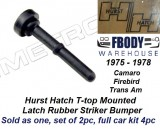 1975 - 1978 Camaro Trans Am Hurst Hatch Latch Down Rubber Bump Stops NEW PRODUCT Metro Moulded