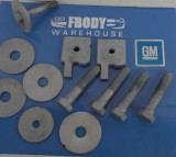 1975 - 1981 Camaro Trans Am Sub Frame Mounting Bolts Hardware Set GM