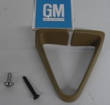 1974  - 1981 Camaro Trans Am Front Seat Belt Guide Triangle CAMEL GM Parts