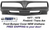 1977 - 1978 Trans Am Front Bumper Cover NEW