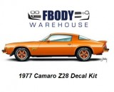 1977 Camaro Z28 Decal Kit Various Colors