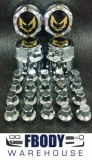 1977 - 1981 Trans Am Center Cap and Lug Nut Set NEW Gold Bird
