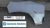 1978 - 1981 Camaro D Side Rear Quarter Panel Wheel Lip + Inner WHeel House Section GM