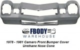 1978 - 1981 Camaro Front Bumper Cover Urethane NEW