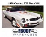 1979 Camaro Z28 FULL Decal Kit All Factory colors!