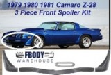 1978 - 1981 Camaro Z28 3 Piece Lower Chin Spoiler Kit NEW FREE SHIPPING