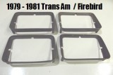 1979 - 1981 Trans Am Headlight Bezel USED GM