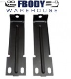 1979 - 1981 Trans Am Radiator Support To Bumper Support Brackets Lower PAIR GM