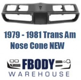 1979 - 1981 Trans Am Nose Cone Front Bumper NEW Urethane