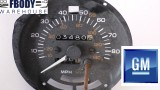 1980 - 1981 Trans Am 80 mph speedometer GM 103k Miles