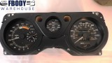 * 1981 Trans Am Gauge Cluster Full Gauges with Tachometer GM Very Nice # 24044555