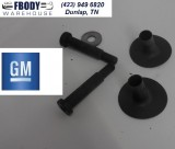 1982 - 1992 Camaro Firebird Trans Am Rear Folding Seat Striker Set GM