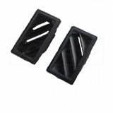 1982 - 1992 Camaro Trans Am Dash Pad Defroster Side Vents NEW PAIR