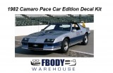 1982 Camaro Indy Pace Car FULL Decal Kit
