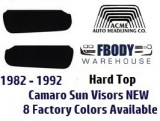 1982 - 1992 Camaro Trans Am Hard Top Sun Visors
