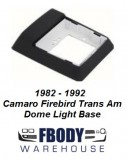 1982 - 1992 Camaro Trans Am Dome Light Base NEW