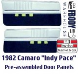 1982 Camaro Indy Pace Car Edition Door Panels FULLY Assembled
