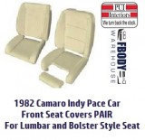 1982 Camaro Pace Car Front Seat Foams SOLD AS A PAIR ONLY