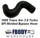 1989 Trans Am Turbo 3.8 Litre SFI Molded Bypass Hose