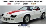 1991 - 1992 Camaro Hertitage Style Stripe Kit (4 Available Colors)