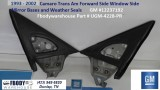 1993 - 2002 Camaro Trans Am Outer Mirror Mount & Weatherseal Channels GM PAIR