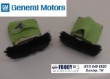 1993 - 2002 Camaro Trans Am Firebird Side WIndow Glass Felt Blocks 2 Pc Adjusters GM