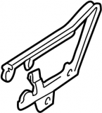 1993 - 1997 Camaro Hood Hinges GM Units PAIR