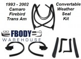 1993 - 2002 Camaro Firebird Trans Am Convertible Weather Seal Kit