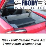 1993 - 2002 Camaro Firebird Trans Am  Trunk Weather Seal