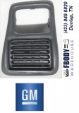 1998 - 2002 Camaro Driver Side  Dashboard Vent GM Gray