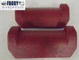 1970 - 1981 Camaro Trans Am Red Seat Bun Covers Used GM!