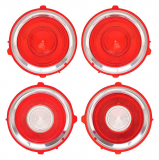 1970 - 1972 Camaro Standard Tail Light Lens Set