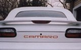 1993 - 2002 Camaro Rear Bumper Cover CAMARO Decals (7 Available Colors!)
