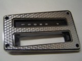 1970 - 1981 Trans Am Swirl Shifter Bezel Inlay *New* SILVER w/ INSTALL VIDEO!