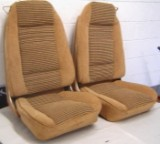 1978 - 1981 Trans Am Deluxe Seat Cover Upholstery Lombardy Cloth Front Seats